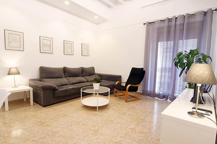 Salón en Apartamentos turísticos Romero